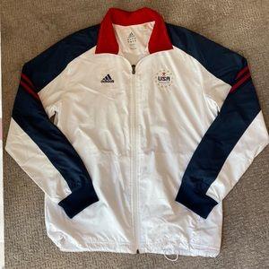 NWOT- USA Adidas Olympic Gymnastics Jacket